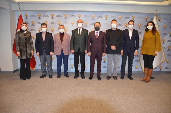 Zübeyir Dursun'dan Hasan Angı'ya ziyaret