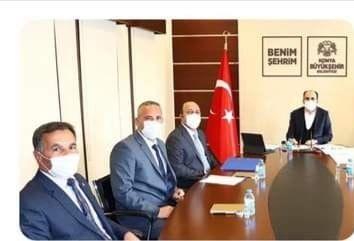 Başkan Bakkal Uğur İbrahim Altay'ı Ziyaret Etti