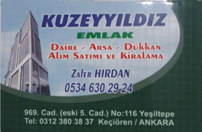 Ankara'da Ereğlili bir emlakçı Zafer Hırdan