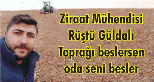 Ereğlili Ziraat Mühendisi Rüştü Güldalı: Toprağın tansiyonu: pH