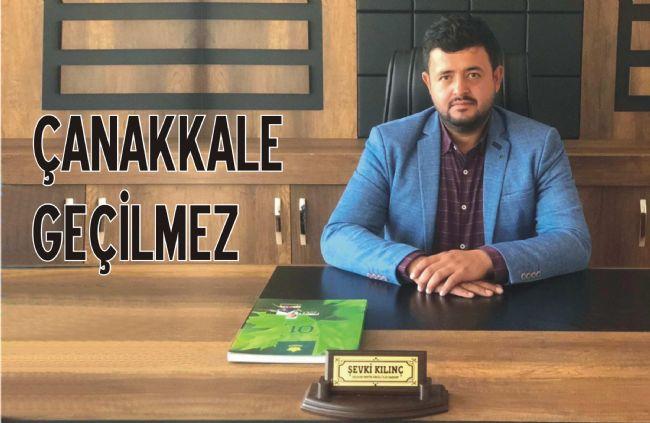 """Başkan Kılınç'dan 18 Mart """"Çanakkale Zaferi"""" Mesajı"""