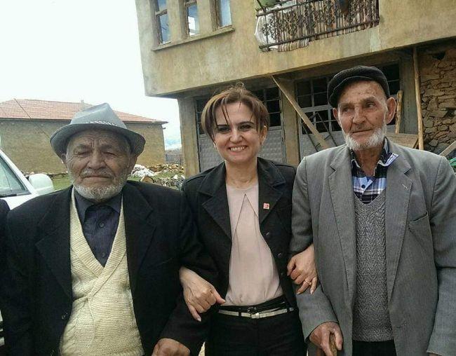 CHP Parti YDK Üyesi Filorinalı Yaşlıları Unutmadı