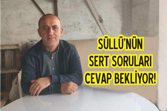 Ereğli Belediyesi Meclis Üyesi Ömer Süllü Yeter Artık Dedi