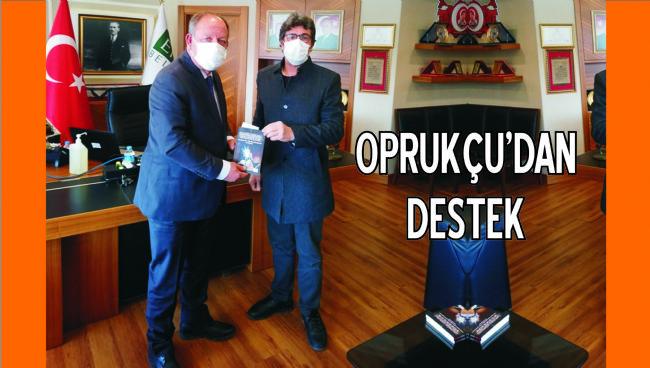 Ereğli Belediye Başkanı Oprukçu Yazarları Destekliyor...