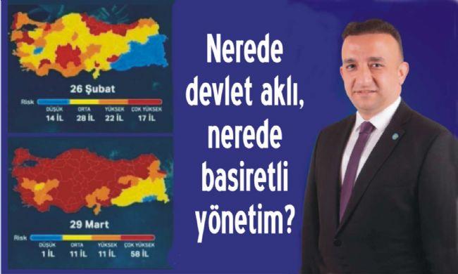 İYİ Parti İl Başkanı Gökhan Tozoğlu Devlet Nerede Diye Sordu