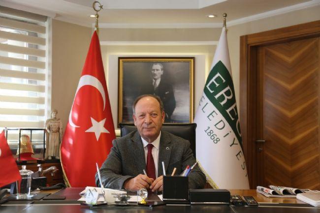 Ereğli Belediye Başkanı Hüseyin Oprukçu Kütüphaneler Haftasını kutladı