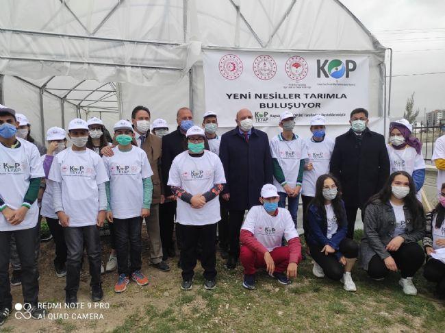 İlçe Tarım Müdürü Ahmet Aydın Sarıca Projelerimiz Sürecektir Dedi