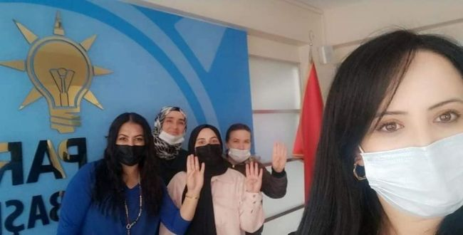 EREĞLİ AK PARTİ KADIN KOLLARIN'DAN YARDIM KAMPANYASI