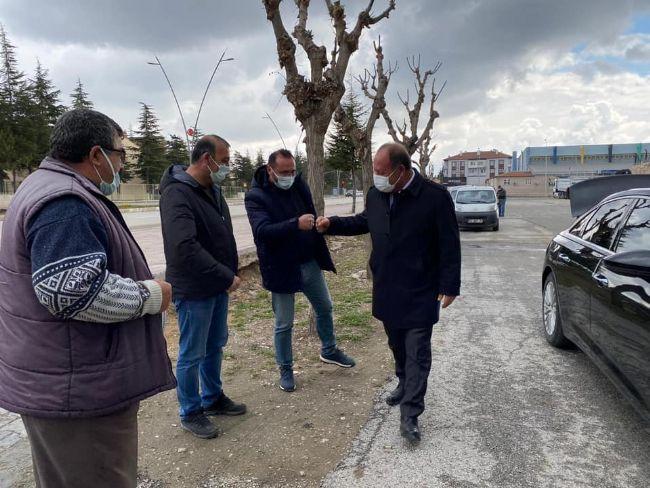 EREĞLİ BELEDİYE BAŞKANI HÜSEYİN OPRUKÇU'DAN EREĞLİSPOR'A MORAL ZİYARET