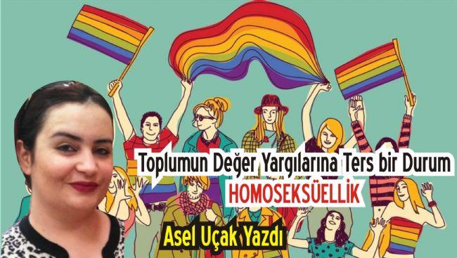 ASEL UÇAK'TAN HOMOSEKSÜELLİK ÜZERİNE BİR YAZI