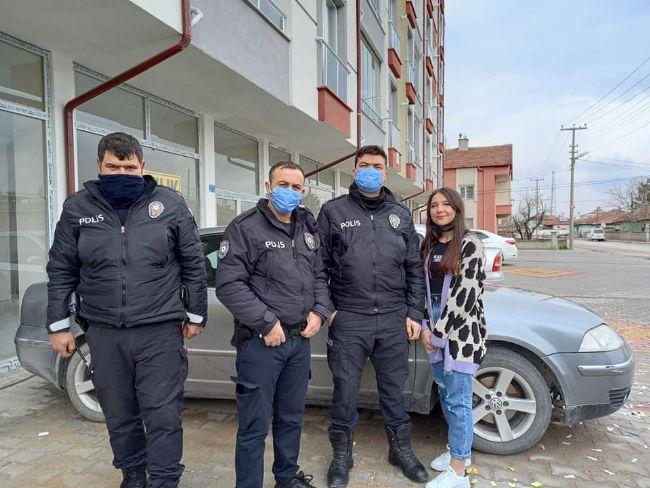 EREĞLİ POLİSİNE SÜRPRİZ