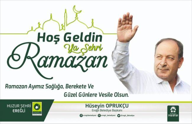 Başkan Oprukçu Ramazan Ayını kutladı