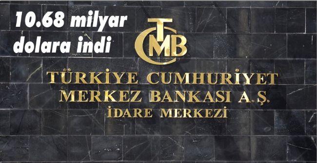 Merkez Bankası döviz rezervleri 2003 seviyesine geriledi