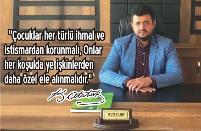 Gelecek Partisi Ereğli ilçe Başkanı Şevki Kılınç'tan 23 Nisan Mesajı