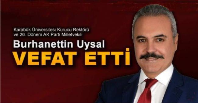 Prof. Dr. Burhanettin Uysal'ın Ölüm Haberini ANERDER Duyurdu