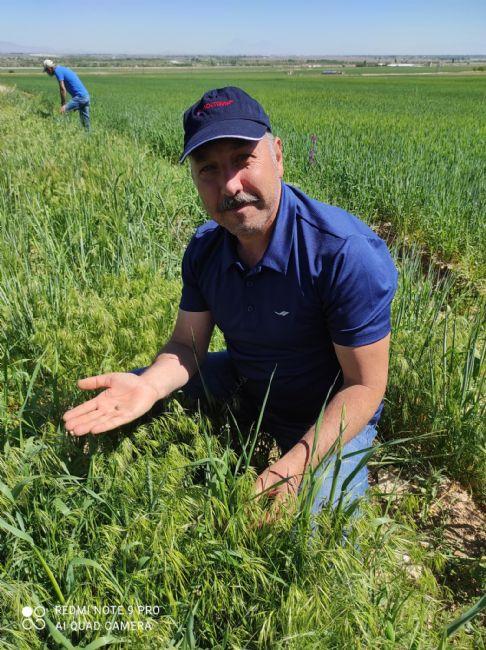 Ereğli İlçe Tarım Müdürü Sarıca Kımıl-Süne Mücadelesini Başlattı