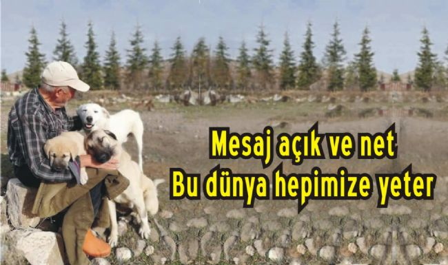 Orman Dede Rahim Demirbaş'tan Mesaj Var