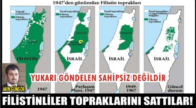 Vatandaş Akın Güngör'ün Korkusu Filistin Gibi Olmak…