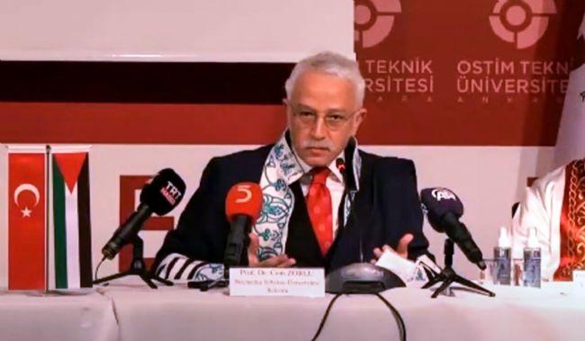 """Rektör Zorlu, """"Filistin'de İnsanlık Göz Göre Göre Ölüyor"""""""