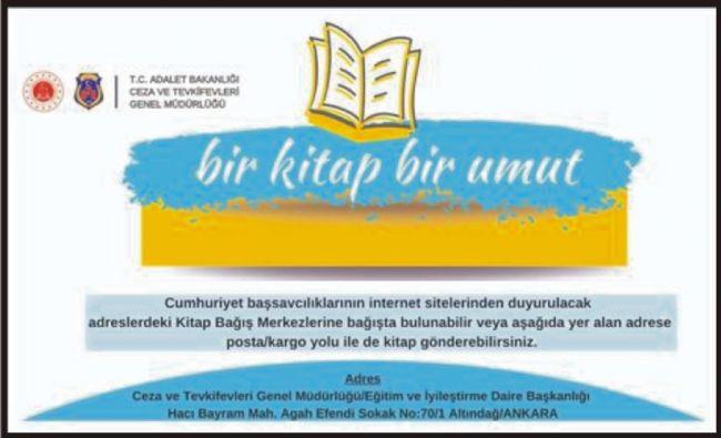 EREĞLİ ADLİYESİ'NDE KİTAP TOPLAMA KAMPANYASI