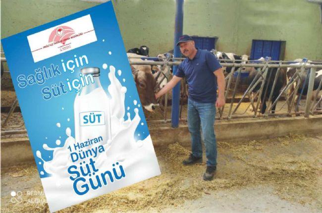 Ahmet Aydın Sarıca'dan Dünya Süt Günü Açıklaması