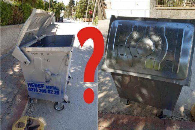 CHP İlçe Başkanı Veysel Gönülal Çöp Konteynırlarını sordu