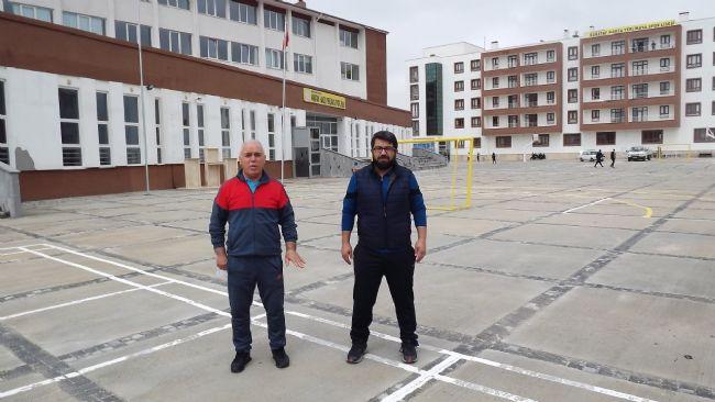 Hamza Yerlikaya Spor  Lisesi'nden 'gel' çağrısı