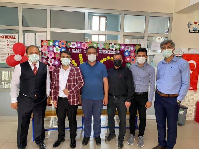 Özel Ereğli Büyük Zafer Ortaokulu müdürü Serpek Kampanyaya Katıldı