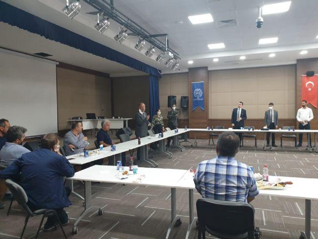 Başkan Oprukçu Organize Sanayisinde Toplantıya Katıldı