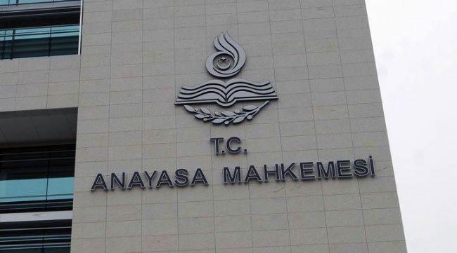 HDP'NİN KAPATILMASI İSTEMİYLE  İLGİLİ İDDİANAMEYE  AYM'DEN KABUL