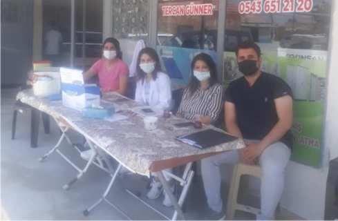 Muhtar Selçuk Yücel Dr. İsmail Yavuz ve ekibine teşekkür etti