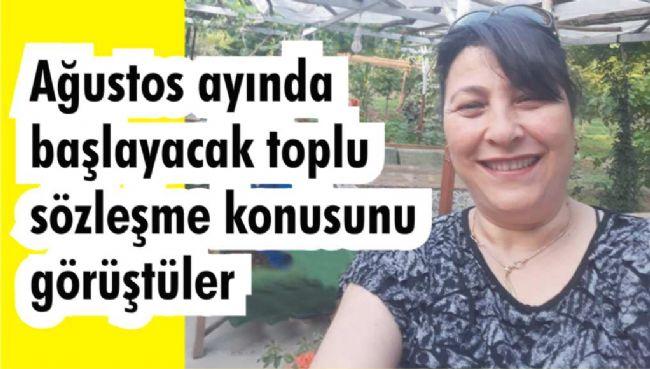 KEVSER ÖZİNCE DEMOKRAT PARTİYE TEŞEKKÜR ETTİ