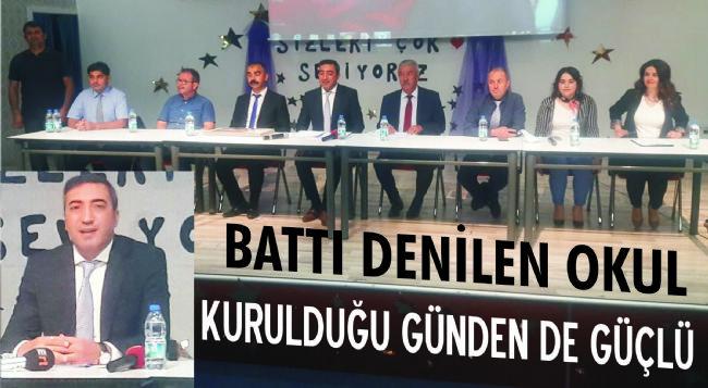 İşadamı Halil Ercan: Amacımız eğitim