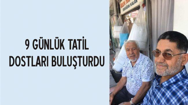 Tuncay Duran ve Erdoğan Kalan hasret giderdi