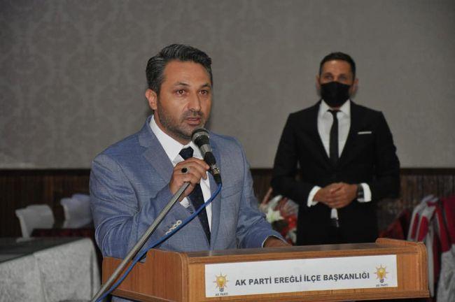 Zübeyir Dursun ve Halil Etyemez AK Partililerle Buluştu