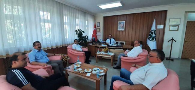ŞEKER FABRİKASI MÜDÜRÜ ÖZBAY'A - HAYIRLI OLSUN ZİYARETİ