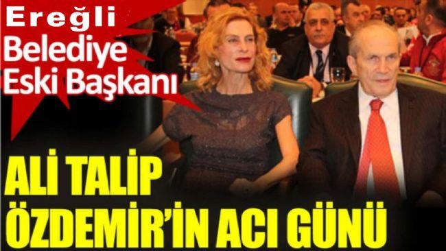 Türkiye'nin İlk Çevre Bakanı Ali Talip Özdemir'in Acı Günü