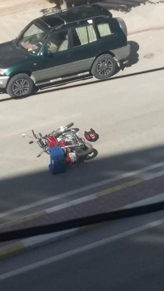 EREĞLİ'DE YİNE MOTOR KAZASI