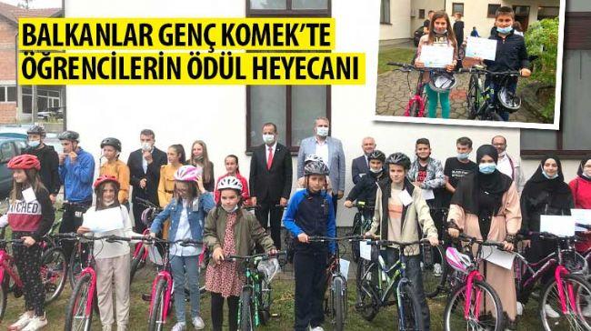 Balkanlar Genç KOMEK'te Öğrencilerin Ödül Heyecanı