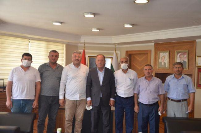 Belkaya'dan Başkan Oprukçu'ya Teşekkür Ziyareti