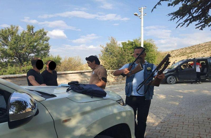Ereğli'de usulsüz avlanan iki kişiye ceza kesildi