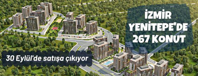 İzmir Yenitepe'de 267 konut satışa sunuldu