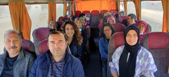 AHMET AYDIN SARICA KURSİYER BAYANLARI TEBRİK ETTİ