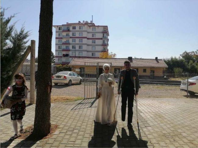Ereğlili Gazi Gökhan Akviran Dünya Evine Girdi
