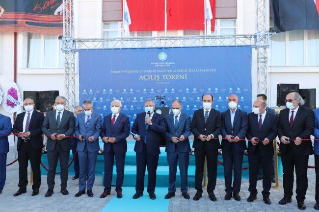 Ereğli'de NEÜ Veteriner ve Ziraat Fakültelerinin Bina Açılışı Yapıldı.