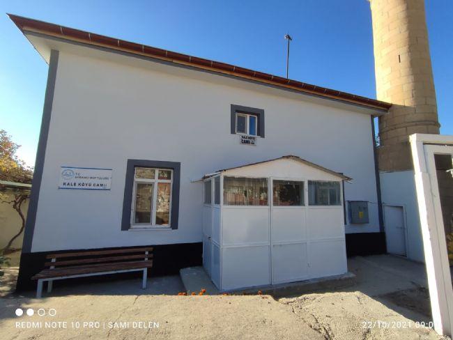 Sami Delen Camiye Kış Bakımı Yaptırdı