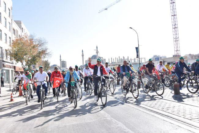 Başkan Altay: Konya Güzelleştikçe Bisiklet Kullananların Sayısı Artaca